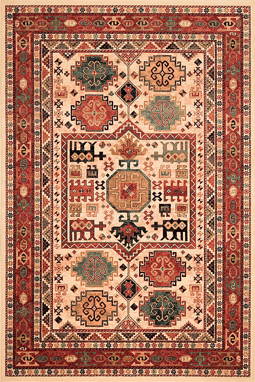 Red Aztec Rug Area Rug Ideas