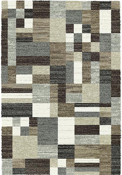 Mehari Neutral Block Rug Carpetwise Curtainwise