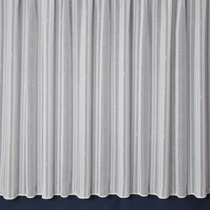 Cambridge Stripe Net Curtain