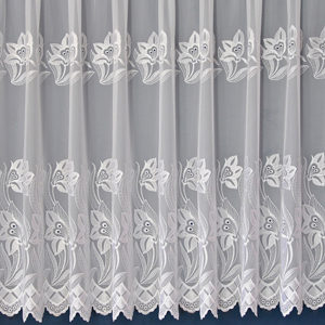 Henley Floral Net Curtain