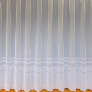 Stripe Border Net Curtain