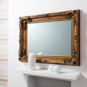 Carved Louis Gold Mirror