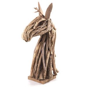 Driftwood Horses Head