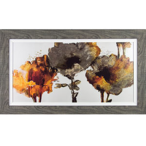 Floral Rhumba Framed Picture