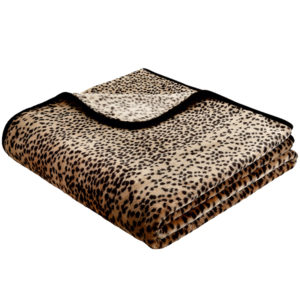 Biederlack Leopard Throw
