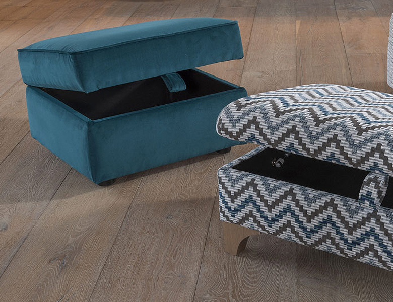 Alstons Gilbert Storage Stool Carpetwise Curtainwise