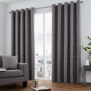 Camberwell Graphite Curtains