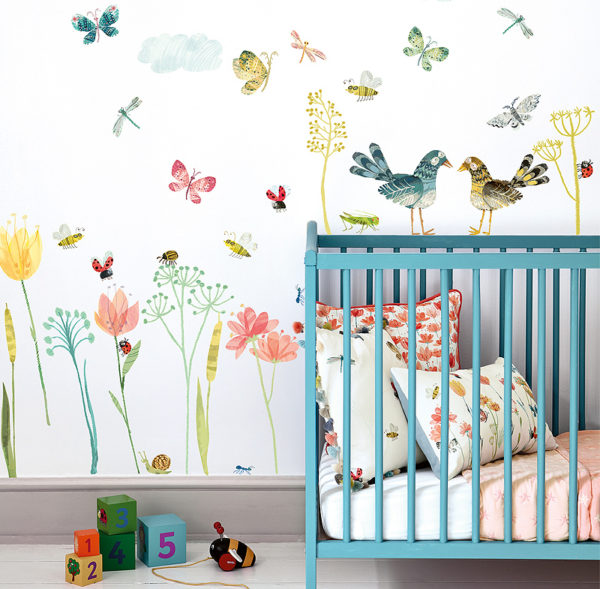 Villa Nova Picturebook Wall Stickers