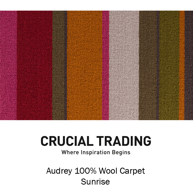 Audrey Stripe Carpet Carpetwise Curtainwise Amp Furniturewise