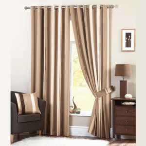 Whitworth Natural Curtains