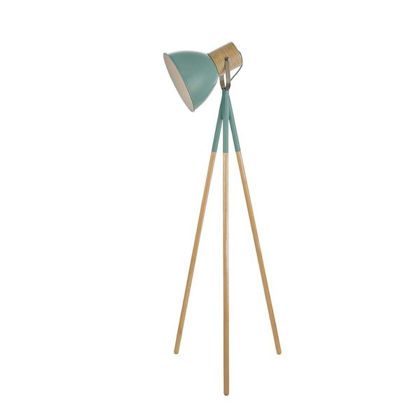 Adna Green Floor Lamp