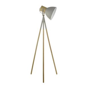 Adna Grey Floor Lamp