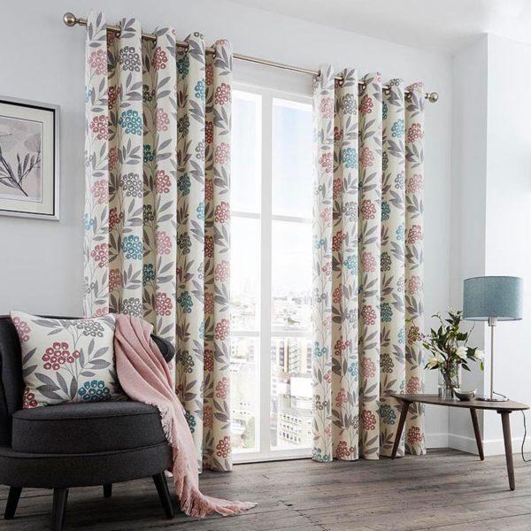 Karsten Blush Curtains