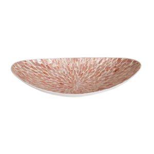Pink Capiz Bowl