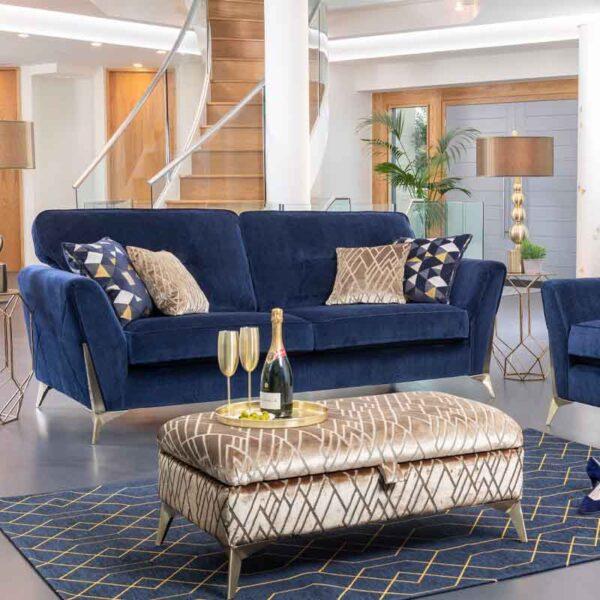 Apollo Velvet Sofa